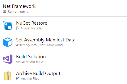 Net Framework Task Position